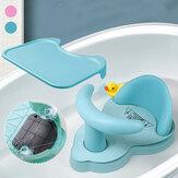 Assento de banheira para bebê Tapete de banheira para bebê Cadeira Segurança Segurança Antiderrapante Cuidados com o bebê Assento de banho infantil Brinquedo de lavagem