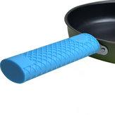 Keuken silicone geïsoleerde Panhandle Cover Anti-slip Keuken Sets Handle