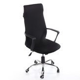 Office Chair Cover Removable Stretch Chair Protector Rotating Armchair Elastic Seat Slipcover for Home Office Chair Decoration