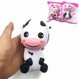 Squishy Baby Cow Jumbo 14cm Slow Rising With Packaging Animals Collection Gift Decor Toy