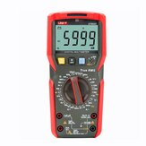 UNI-T UT89X/UT89XD 6000 Count Digital Multimeter True RMS Automatic Backlight Multimeter NCV/Condensator/Triode/Temperatuur Tester