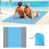 Tecido Oxford Praia Tapete impermeável dobrável para piquenique Tapete para dormir ao ar livre para acampar viagens