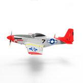 Fuselagem de peça sobressalente de avião Volantex RC 768-1 Mustang P-51D RC