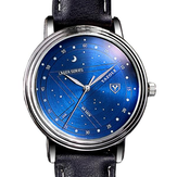 452.089 366 Fashion Men Kwarts Horloge Casual Stars Patroon Horloge Horloge