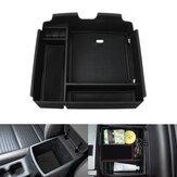 ABS Car Armrest Storage Box For Kia Carnival 2021 Interior Decoration Black