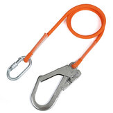 XINDA 1.6 / 3 / 5m Anti-caduta professionale Nylon Sling High Altitude Safety Climbing Cintura