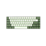 124 Keys Matcha Keycap Set XDA Profile PBT Sublimation Keycaps for Mechanical Keyboard