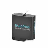 Ruigpro 1220mAh Lipo Battery for Gopro Hero 5/6/7 Sport Camera Accessories