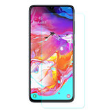 Enkay Protetor de Tela de Vidro Temperado Para Samsung Galaxy A70 2019 2.5D Filme de Borda Curvada