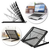 Support de bureau pliable réglable de dissipation de chaleur de bureau pour ordinateur portable de tablette Macbook