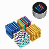 216PCS 5mm Cube Buck Ball Mixcolour Magnetic Toys Neodymium N35 Imán