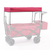IPREE® Garden Utility Wagon Cart Sun/Rain Shade Cover Trolley Canopy For Garden Utility Wagon Cart