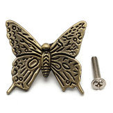 Butterfly Cabinet Handles Kitchen Furniture drawer pull knob With Screws