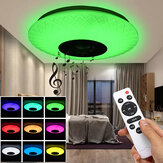 120W RGB Music Coloured LED Luz de techo regulable Lámpara bluetooth + Control de APP