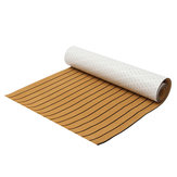 230cm x 90cm x 5mm EVA Foam Faux Teak Sheet Boat Yacht Synthetic Teak With Glue