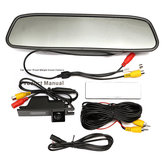 4.3 Inch TFT LCD Color Monitor CCD Reverse HD Digital Car Rear View Camera For Vauxhall Zafira