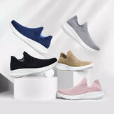 FREETIE Sneakers 2 Antibacterial Men's Running Shoes Ultralight Breathable Elastic Non-slip Daily Sports Shoes Casual Socks Walking Shoes