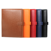 Stationery A4 multi-functional paper splint leather on single clip room this contract this business sales