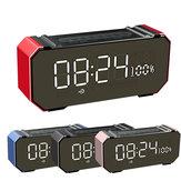 GS707 Trådlös LED Bluetooth 4.2 Högtalare Soundbar Väckarklocka USB TF AUX FM-radio mottagare
