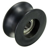 8Pcs 8mm U Trough Ball Bearing 0840UU Guide Pulley Sealed Rail Ball Bearing 8*40*20.7mm
