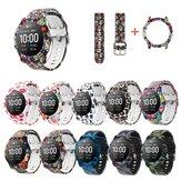 ساعة نمط ملون حزام ساعة حزام مع غطاء ساعة ساعة لساعة Haylou الشمسية LS05 ذكي