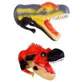Dinosaurier-Handpuppe Realistisches Museum Details Jurassic Diecast Model Decor Toys Collection