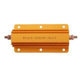 Fournitures d'équipement électrique industriel de logement en aluminium de résistance élevée de RX24 200W 4R
