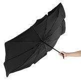 Автомобильный солнцезащитный козырек Авто солнцезащитный козырек Внутреннее переднее лобовое стекло Солнце UV Защитный зонтик