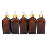 Frascos de perfume reusáveis da pipeta 5Pcs
