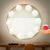 2/6/10/14 Bulbs Hollywood Style LED Vanity Dimmable Mirror Lamp Lights Kit for Makeup