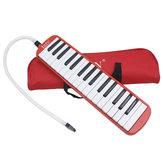 IRIN 32 Key Melodica Keyboard Mondorgaan met Pag voor Schoolstudent