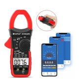 HoldPeak Digital Clamp Multimeter HP-570C-APP 1000A AC/DC Current Voltage Temperature Meter Link to Phone APP to Recored Data