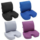 Orthopedic Memory Foam Seat Cushion Waist Pillow Tailbone Lumbar Back Support Office Home