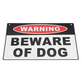 200x300mm Предупреждение Остерегайтесь Собака Алюминиевая предупреждающая сигнализация