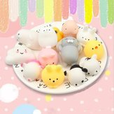 25 STKS Random Squishy Lot Slow Rising Kawaii Cute Animal Squeeze Hand Toy