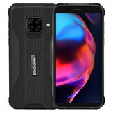 Blackview BV5100 Global Bands IP68 und IP69K 5,7 Zoll HD + 4 GB 128 GB NFC Android 10 5580 mAh Drahtloses Laden MT6762V Octa Core 4G Smartphone