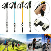 Ayarlanabilir3bölümlüYürüyüşYürüyüşüÇubuk Trekking Pole Aluminum Alloy Alpenstock