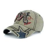 Cappellino da baseball da uomo regolabile da sole in cotone lavato da uomo
