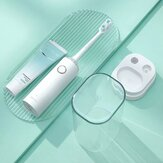 ZHIBAI TL2 Electric Sonic Toothbrush 2 Modes IPX7 Waterproof Wireless Charging Tooth Cleaner Tumbler Travelling Suit From