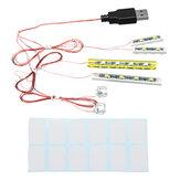 Mini DIY LED Flash Kit Lumière Pour Lego 21310 Magasin De Pêche Building Blocks Modèle