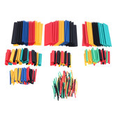 127Pcs/328Pcs Heat Shrinkable Tube Insulation Sleeve Household DIY Electrician Wiring Cable Protection Shrink Tube
