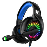 YOBA A20 Wired Gaming Headphone RGB 3.5mm/USB Interface Bass 7.1 Channel Headphone Gaming Music Headset