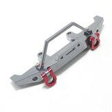 WPL C14 C24 RC Car Semi-Carpi Cartoon Modified Upgrade Metal Fittings Front Bumper Parts