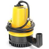 Pompe à eau submersible de 12V 1110GPH 6000L / H Nettoyer l'inondation sale d'étang de piscine sale