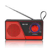 Portátil Mini Rádio FM Bluetooth 4.2 Alto-Falante Sem Fio USB TF Cartão de Rádio Speaker