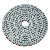 5 Inch 50-6000 Grit Diamond Polishing Pad Wet Dry Sanding Disc for Marble Concrete Granite Glass