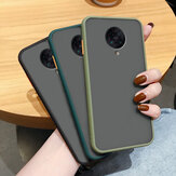 Bakeey for Xiaomi Poco F2 Pro Case Armor Shockproof Anti-fingerprint Matte Translucent Hard PC&Soft TPU Edge Protective Case Non-original