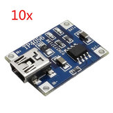 10PCS TP4056 5V 1A Lipo Battery Mini USB Charging Board Charger Module