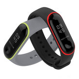 Mijobs Colorful siliconen vervanging polsband armband polsband voor XIAOMI mi Band 3