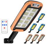 COB LED Applique murale solaire PIR Capteur de mouvement Lampe à intensité variable Jardin extérieur